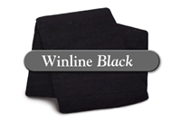 "Black Cotton/Poly - Crib 45""x60"""