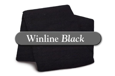 "Black Cotton/Poly - Twin 72""X96"""