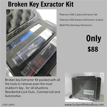 Broken key Extractor Kit
