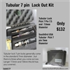 Tubular 7 pin  Lock Out Kit