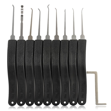 KLOM Lock  Pick Set  9 piece