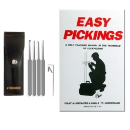 SouthOrd  Lock Pick Set with Self Teaching Manual