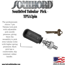 SouthOrd Tubular  Pick - TPXA-7pin