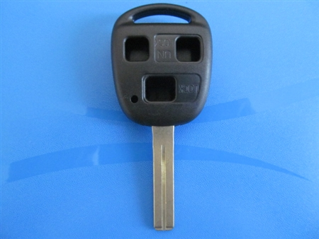 LEXUS 3 BUTTON ABS Plastic Remote Case and Key