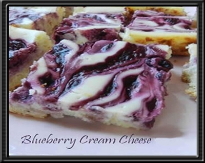 Sweet Blueberry Cream Cheese