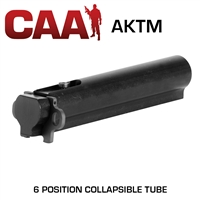 CAA AKTM M4 Milled Buffer Receiver 6 Position Aluminum Tube AK47