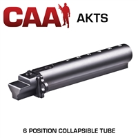 CAA AKTS M4 Stamped Buffer Receiver 6 Position Aluminum Tube AK47