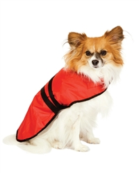 Fashion Pet Essential Dog Blanket Jacket Red Small