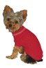 Fashion Pet Classic Cable Sweater in Red Small