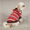 Eastside Spirit Striped Dog Sweater X Small
