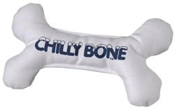 Large breed puppy teething toy chilly bone by multipet