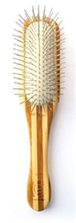 Bass Oblong Pin Brush in Bamboo
