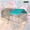 Portable Pet Pen, cat, playpen, duck pen, small dog run, chicken tractor, chicken coop and rabbit cage.