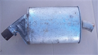 Mercedes Center Muffler OM617 Turbo-Diesel W123