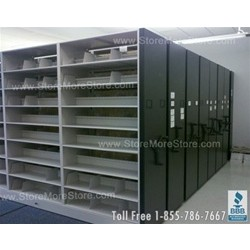 Used Spacesaver Shelving For Sale, System #1, #36555-FIL-7(CC)