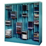 Datum CD6-294 CD Storage Rack Media Storage Tiers perfect to store your CD in it's plastic Jewel Case