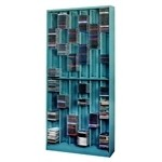 Media Storage CD cabinets and DVD Racks holds 600 CD Jewel Cases for maximum capacity | CD6-588 Datum