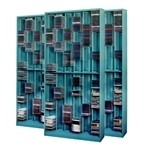 Media Storage CD and DVD Rack holds 1800 CD Jew Cases