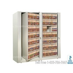 rotary file systems made by datum rotary file cabinet includes shelves and dividers