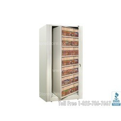 rotary files or rotary file cabinets these rotary file units include shelves and dividers made by datum