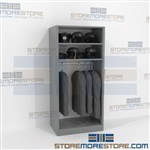 Uniform & Equipment Storage Racks Rod Shelves Storing Band Garments Hats Gear