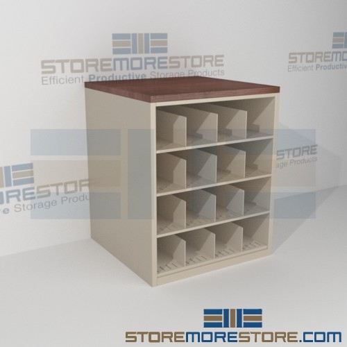 Architectural Drawing Storage rolled blueprint storage rack counter cabinet pigeon hole shelving