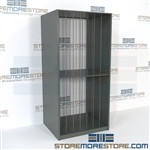 "Storage Racks for Artwork and Paintings (42"" W x 30"" D x 88"" H), #SMS-18-65895-423088"