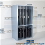 Shelving for Riot Shields Storage Racks for Police Vests Armor Cabinets SWAT