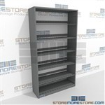 64 inch High Shelving Six Level Office Steel Adjustable Letter Size Shelving