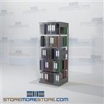 Adjustable Office Racking Open File Shelves 30 inches wide Adder Unit
