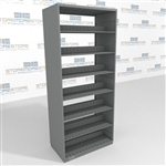 Business Office File Shelving Adjustable Letter Sized Filing Steel Shelving