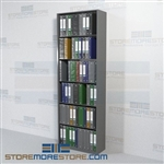 "Open Office Shelving Racks Storing Binders Files 30"" Wide Starter Unit"