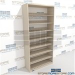Adjustable File Shelves Litigation Shelving Free Standing Units