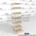 Document Racks Binder Storage Open Shelves for Storing Files