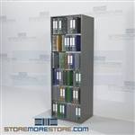 "Medical Chart Racks Office Storage Document Filing Shelves 30"" Wide"