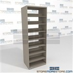 Letter Sized Flexible File Shelves Double Side Letter-Sized 88 High File Shelf