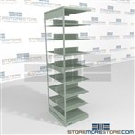 Dual Sided File Storage Racks Two Sided Law Firm Shelving