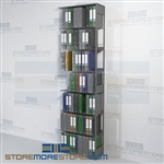 "Adjustable Racking Office Document Storage Shelving 30"" Wide Adder Unit"