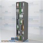 "Office Supply Shelving Binder Storage Notebook Racks 24"" Wide Starter Unit"