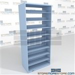 "97 ""Inch High Letter Sized File Shelving Letter Size Adjustable Medical Shelving"