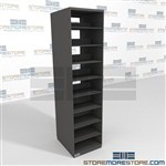 Legal Department File Room Free Standing Filing Shelves