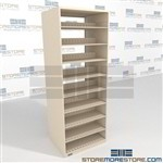 Law Office File Racks Steel Adjustable Legal Shelving Units