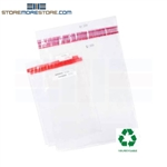 Clear Property Bags Sequentially Numbered Audit Trail Evidence Storage Bags Pacific Concepts