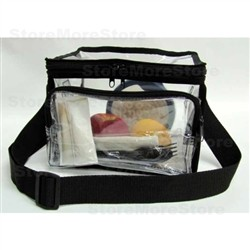 Correctional Officers Clear Lunch Box, Security Compliance Handbag