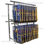 Hanging Property Storage Bag Racks, Storing Evidence Using Hooks, PCRAILRACK5