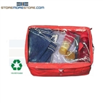 clear top personal property bags storage inmates