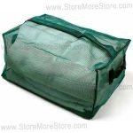 Clear Inmate Property Cell Storage Bags, Nylon Mesh Containers