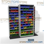 Rolling Shelves for Small Parts Storage