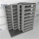 Slide-a-side shelf, side-to-side storage,4-Deep storage, Datum