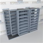 Laterally Sliding Files T232LT-4P8 | Sideways Moving Shelving Systems